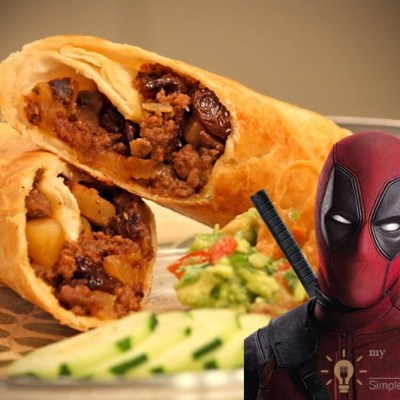 Chimichanga – Cooking Deadpool's Favorite Meal