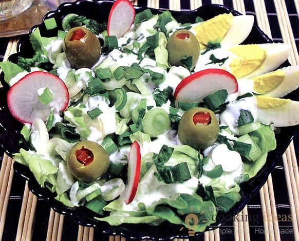 Refreshing Spring Onion Salad !