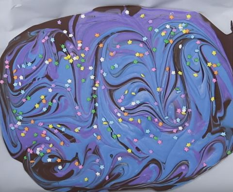 How To Make Your Own Chocolate Galaxy