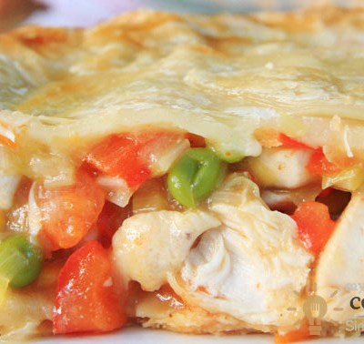 Mmm… I Love This Mexican chicken pie