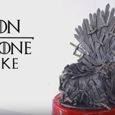 "The ""Iron Throne"" – Incredible Game Of Thrones Cake !"
