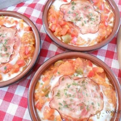 Perfect Summer Dish – Eggs In Tomato Sauce