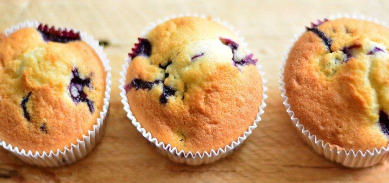 keto blueberry muffins