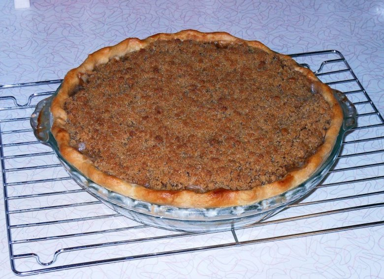 James martin apple crumble pie recipe