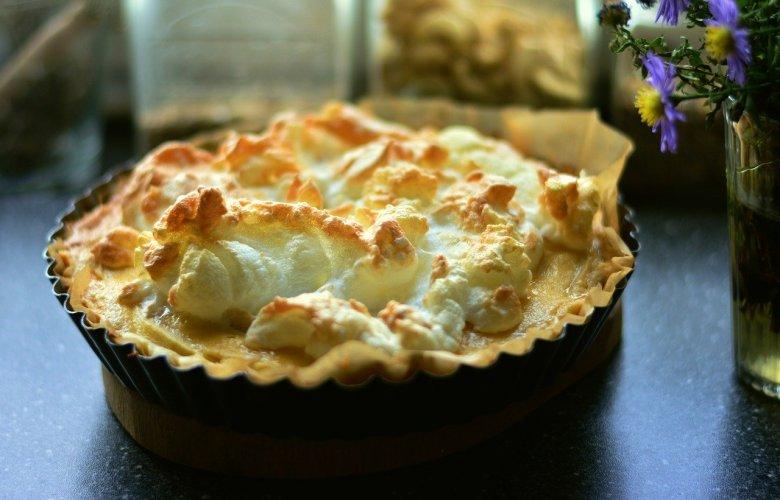 James Martin recipe for apple tart