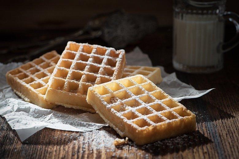 recipe for fluffy waffles Martha Stewart