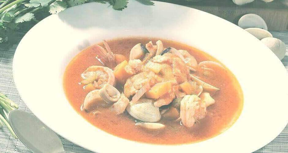 sopa - Sopa de Marisco