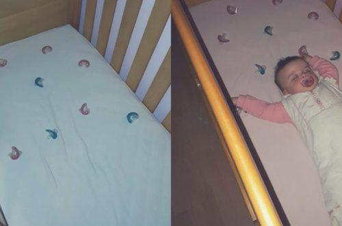 bebe se despierta mucho por la noche