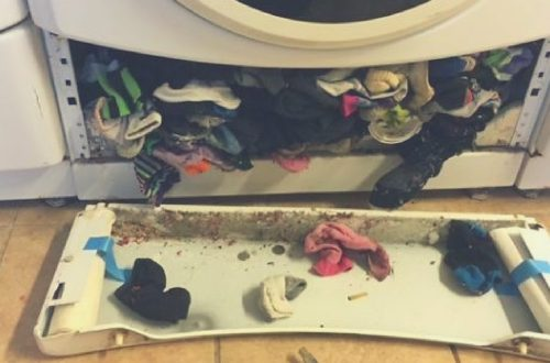 mantenimiento de la lavadora