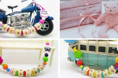 ideas de regalos chupeteros personalizados
