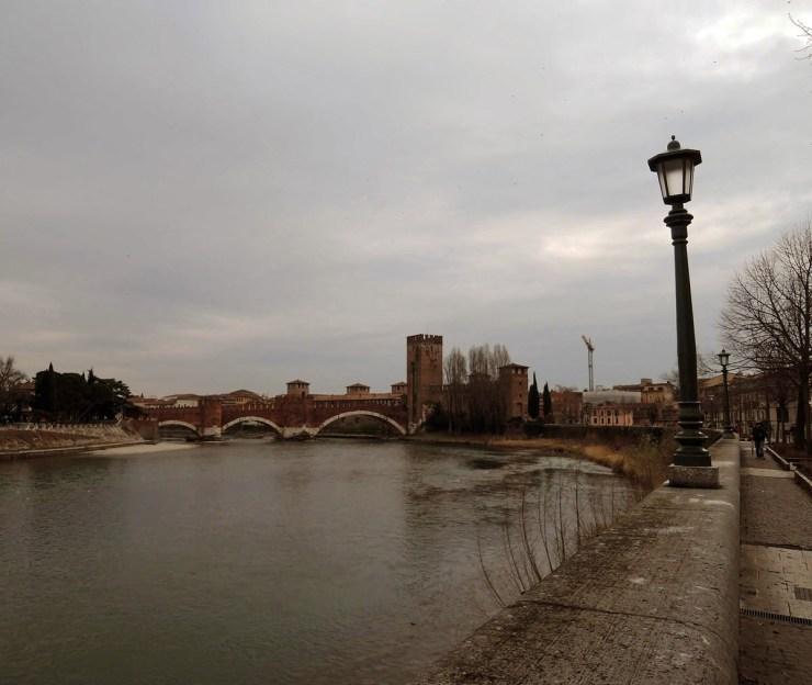 Castelvecchio seen from the river