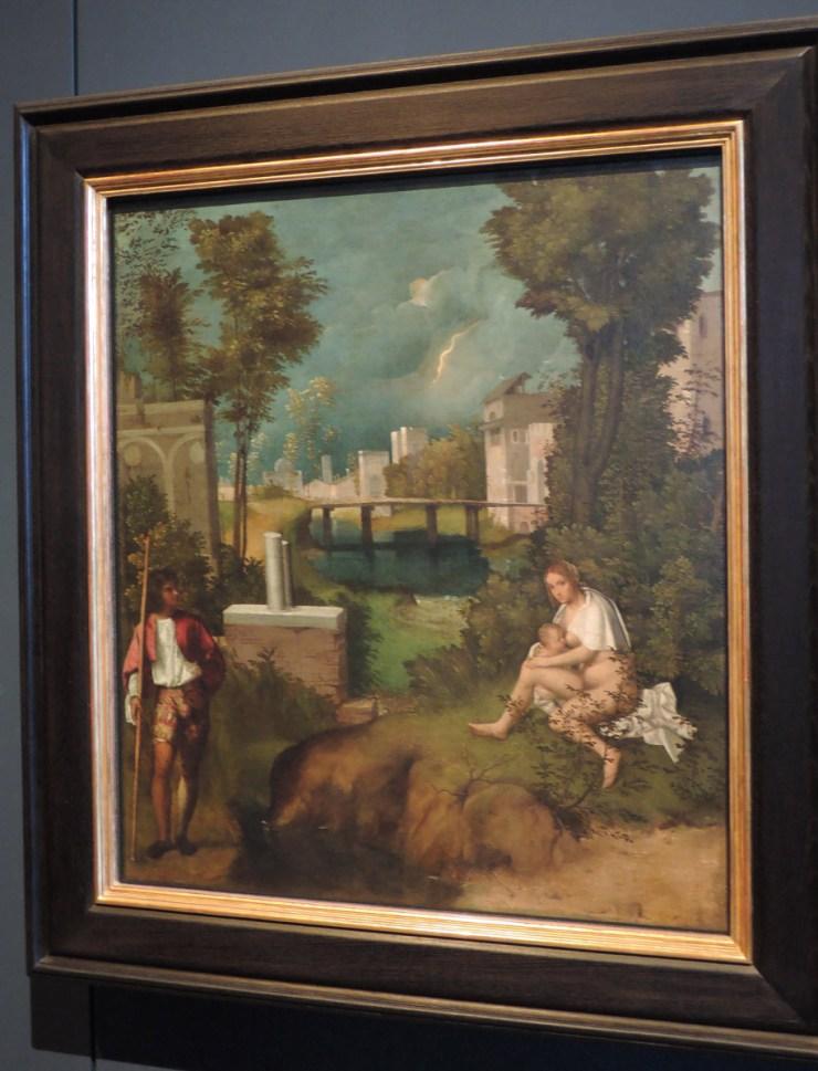 Giorgione, The Tempest, Gallerie dell'Accademia