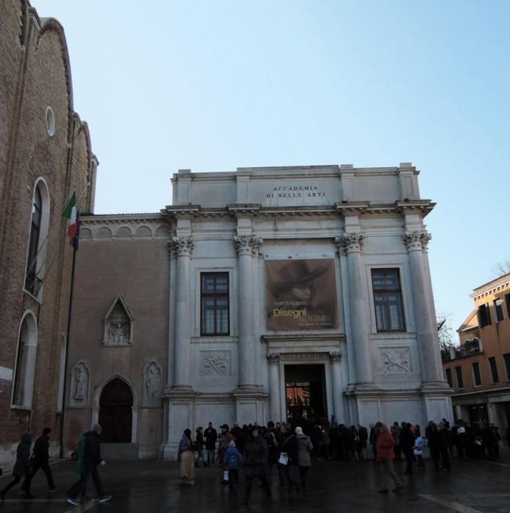 Venice Accademia Galleries Entrance