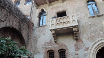 Balcony of Juliet's house