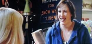 Miranda laughing