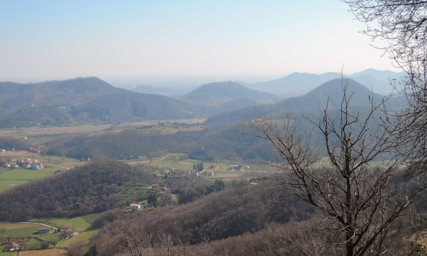 Hiking in the Euganean Hills