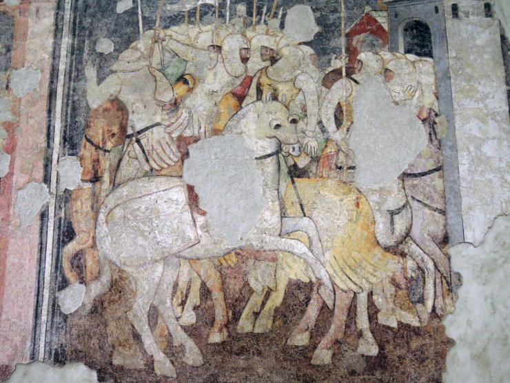 Battles of knights