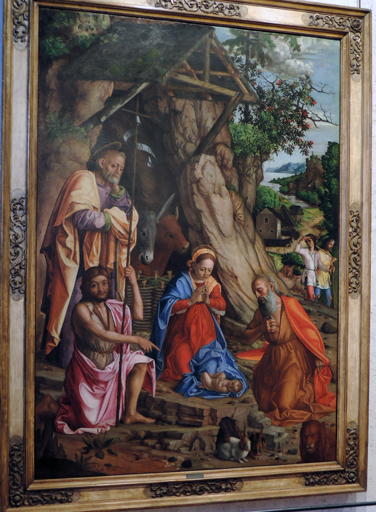 Nativity of the rabbits