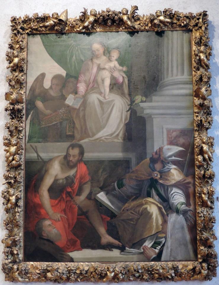 Pala Bevilacqua-Lazise, Veronese