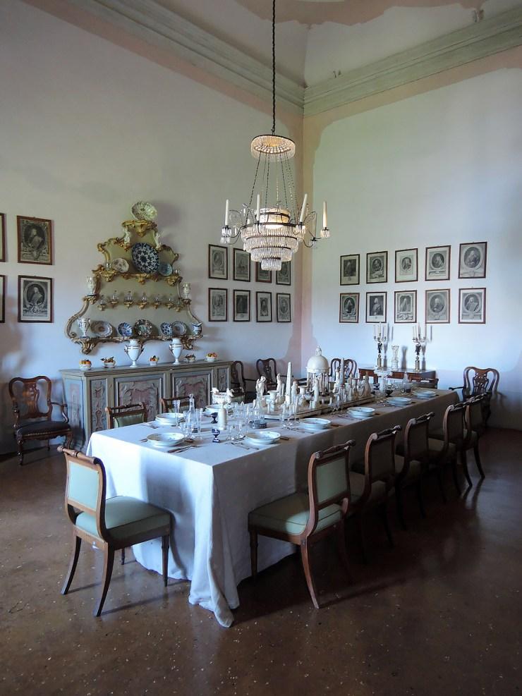 Villa Pisani Dining Room