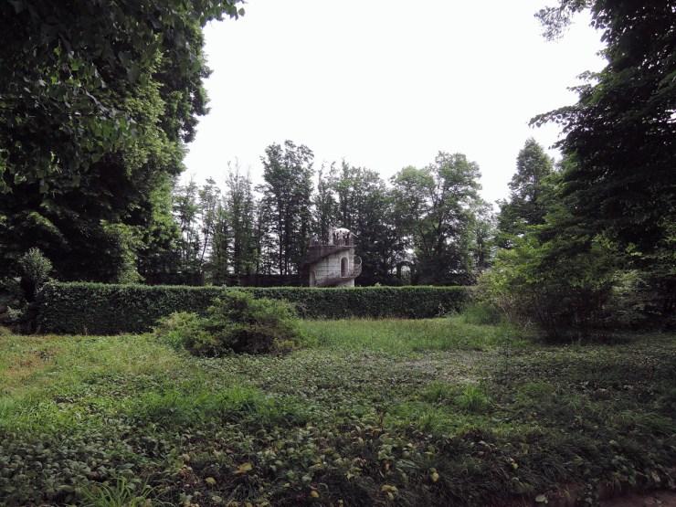 Villa Pisani Maze from the outside