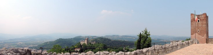 Panorama from Juliet's Castle