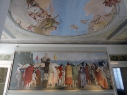 Giandomenico Tiepolo frescoes