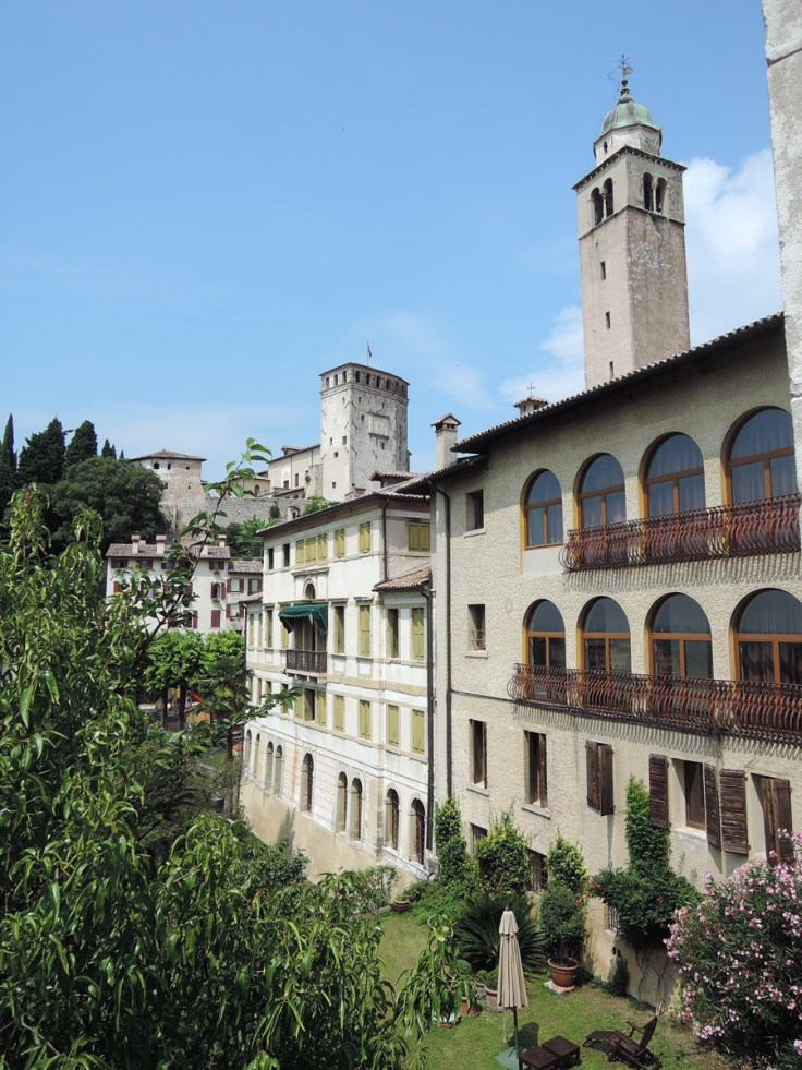 View from the terrace, Visit Asolo