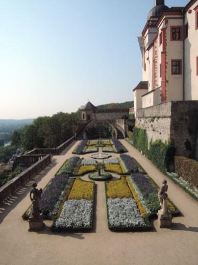 Würzburg Festung Marienberg garden