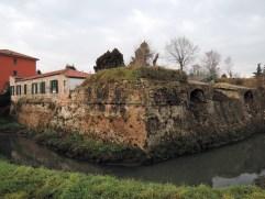 Padova Walls along via Fra' Paolo Sarpi, Padova