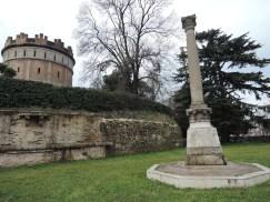 """Codalunga turret mast, also called """"della Gatta"""" (of the cat)"""