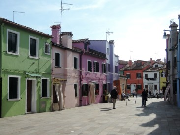 Coloured houses, Burano