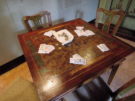 Biribisso game, Goldoni house