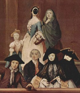 Moretta in a painting by Pietro Longhi -en.wikipedia.org