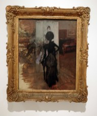 Woman in black by Giovanni Boldini, Mart Museum