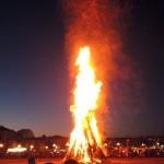 Befana bonfire, Padova