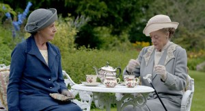 Just imagine me sipping tea with them