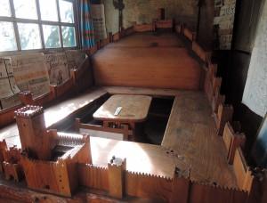 Marostica Walls bench, Osteria Madonnetta