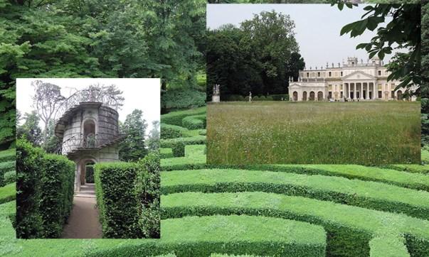 Villa Pisani Maze