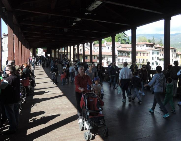 The Bassano del Grappa Bridge