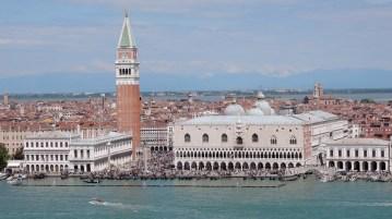 View from San Giorgio campanile