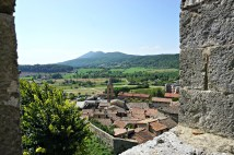 Sarteano from the castle