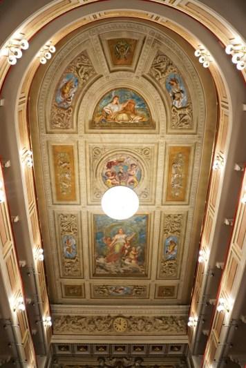 Theatre ceiling