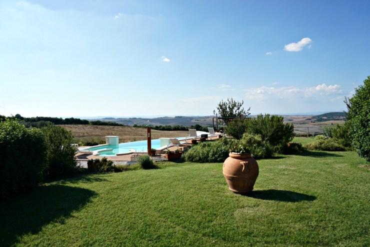 Agriturismo Il Macchione, pool area