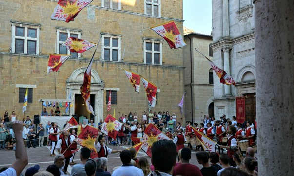 Pienza during the Cheese Festival