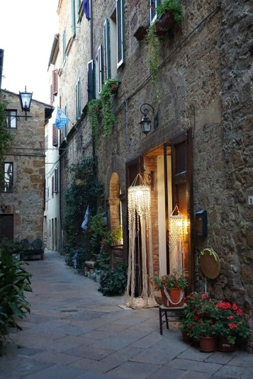 Shop in Pienza