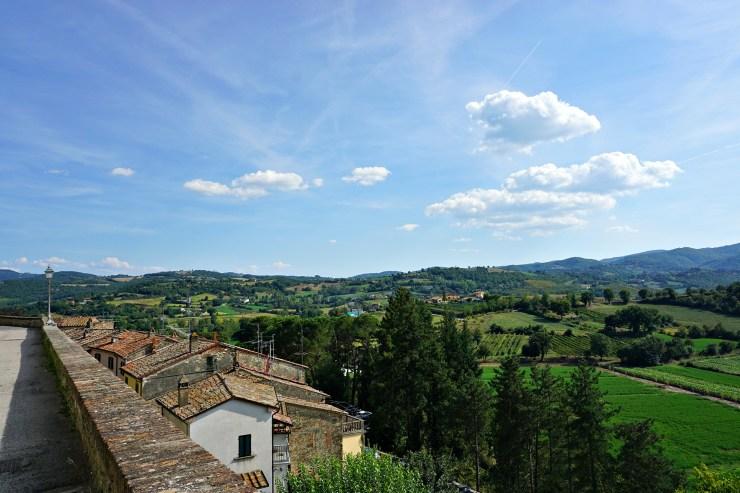 Monterchi landscape