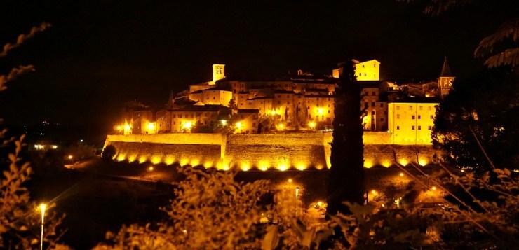 Anghiari by night