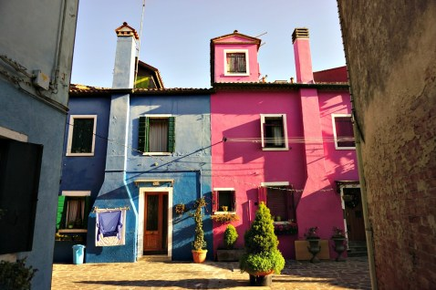 Blue and Pink, Island of Burano
