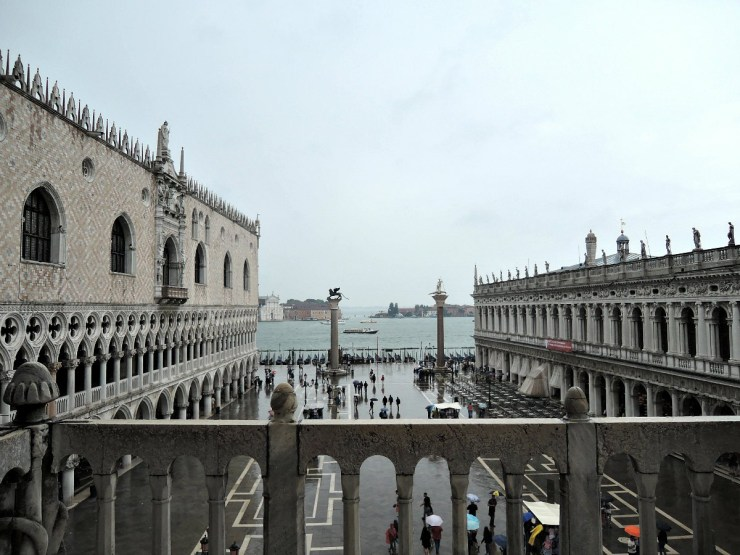 View from the terrace, San Marco Basilica